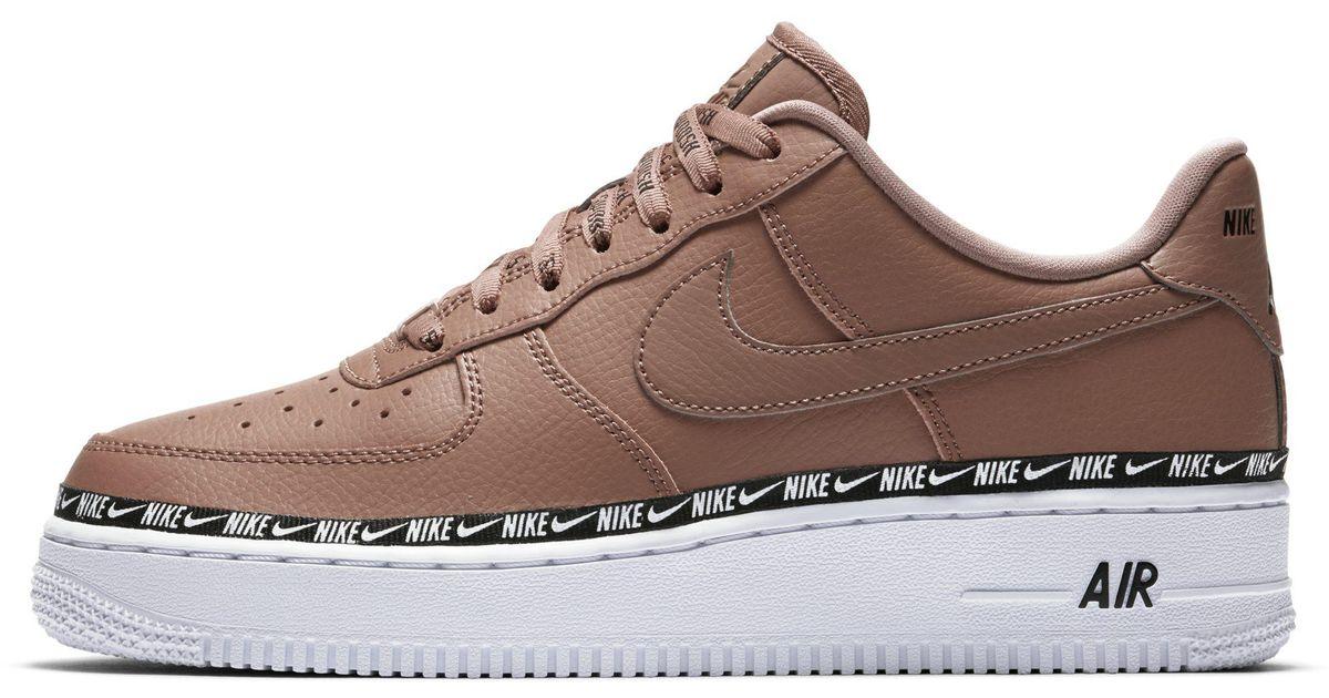 brand new ecc19 c5f0d Nike Air Force 1  07 Se Premium Shoe in Brown - Lyst