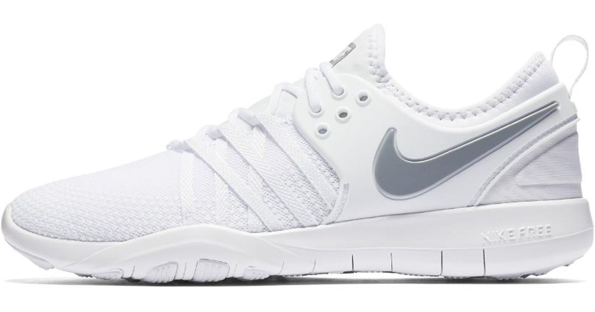 0aef5d47442f Lyst - Nike Free Tr7 Women s Training Shoe in White