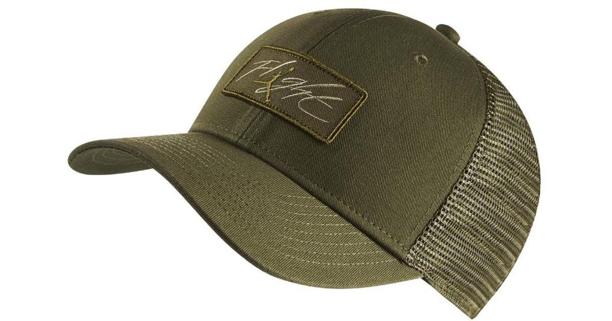 bf54578565d0 Lyst - Nike Flight Classic 99 Adjustable Trucker Hat
