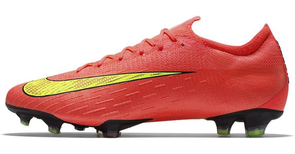 Lyst - Nike Mercurial Vapor 360 Elite Fg Premium Id Firm-ground Soccer  Cleats in Red for Men fb6714261c