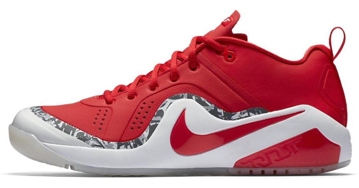 Lyst - Nike Force Zoom Trout 4 Men s Turf Baseball Shoe in Red for Men 33985c37f