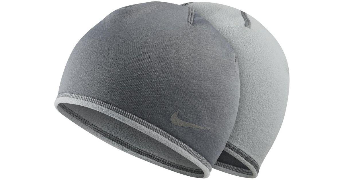 13a88b98da1d Lyst - Nike Run Thermal Men s Running Glove And Hat Set in Gray for Men