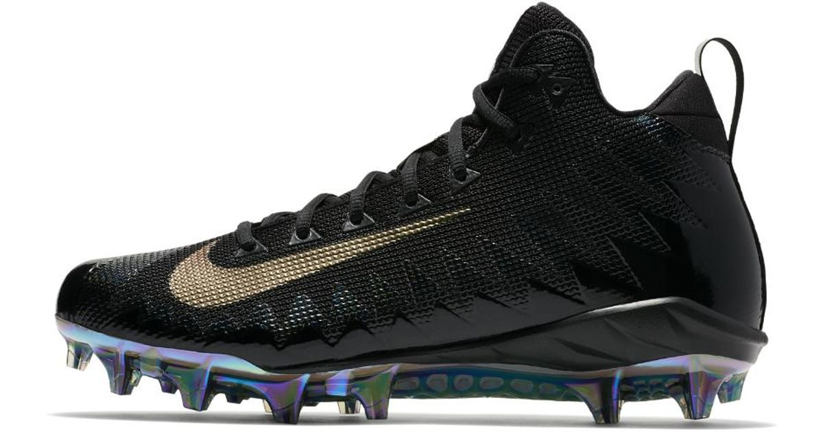 64e54073075 Lyst - Nike Alpha Menace Pro Mid Men's Football Cleat in Black for Men
