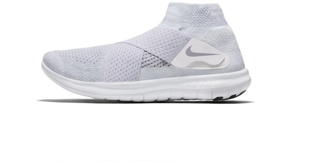 Nike White Free Rn 2017 Men's Running Shoe for Men Lyst