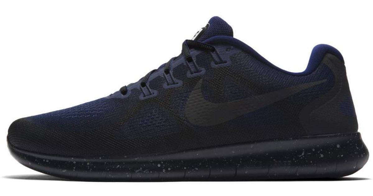 564a42341d5 ... aa3760 001 01e7c 4ae3d  inexpensive lyst nike free rn 2017 shield mens  running shoe in black for men 6241d c9bb3