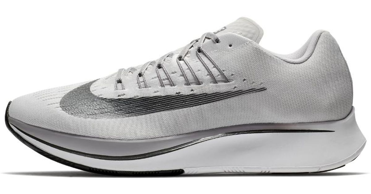ba5845e3bf73 Lyst - Nike Zoom Fly Men s Running Shoe in Gray for Men