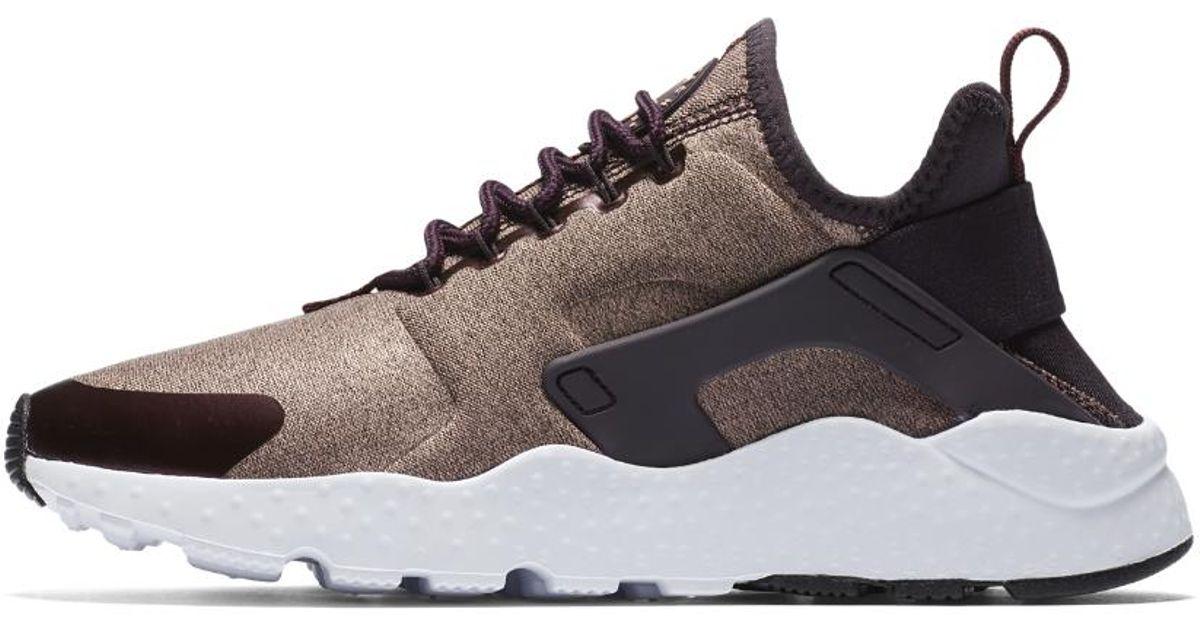 9a6806a8bcf8 Lyst - Nike Air Huarache Ultra Se Women s Shoe in Brown