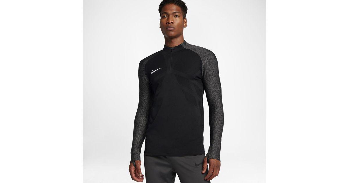 441740ad2 Lyst - Nike Aeroswift Strike Drill Men's Soccer Top in Black for Men