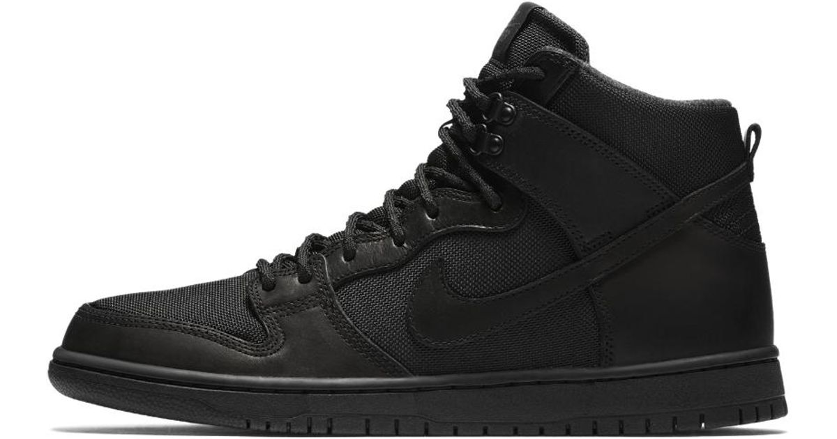 cc4c6d6df56b4 ... Premium Flash Lyst - Nike Sb Dunk Hi Pro Bota Mens Skateboarding Shoe  in Black for Men