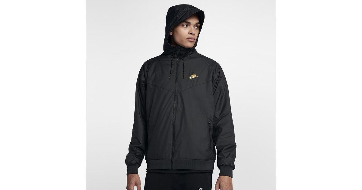 a620f7e7b7 Lyst - Nike Sportswear Windrunner Winterized Qs Men s Jacket in Black for  Men