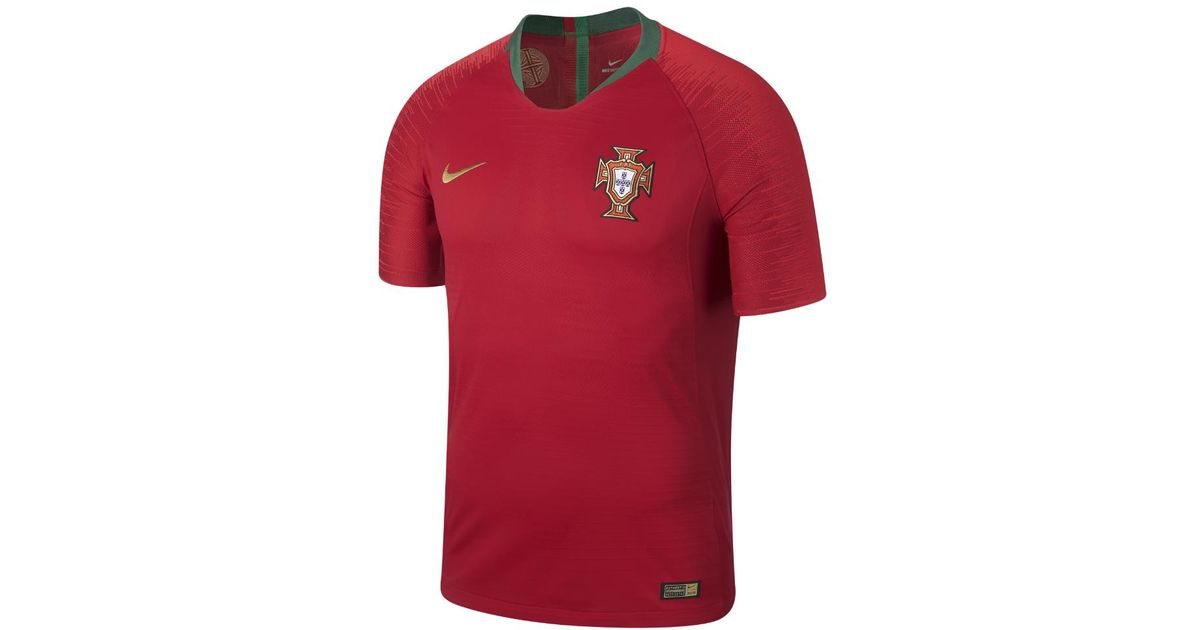 873c8ed1406 Nike 2018 Portugal Vapor Match Home Men's Soccer Jersey in Red for Men -  Lyst