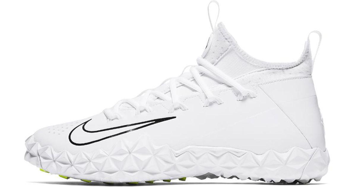 6 Cleat Lyst Nike Elite Turf Lax Alpha Lacrosse Men Huarache White For uTc5K1lFJ3