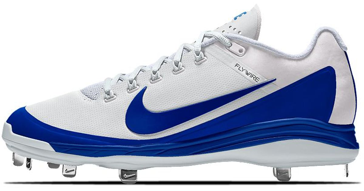 e91770f7f Nike Alpha Air Clipper  17 Metal Id Men s Baseball Cleats in Blue for Men -  Lyst