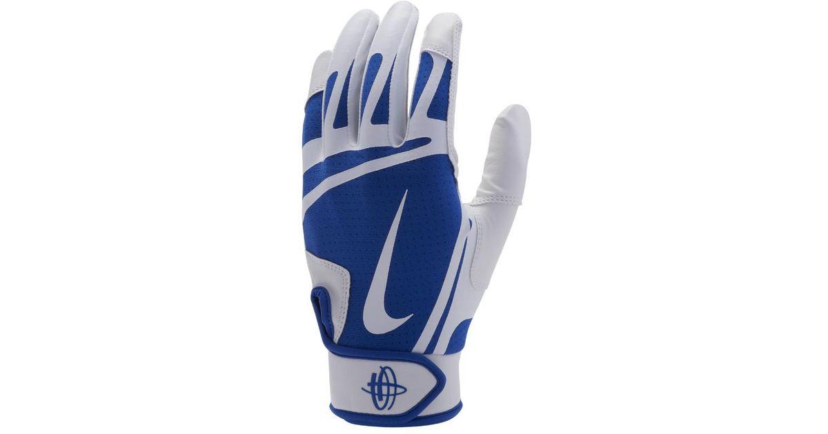 6c5b6b0b275d Lyst - Nike Huarache Edge Baseball Batting Gloves in White for Men