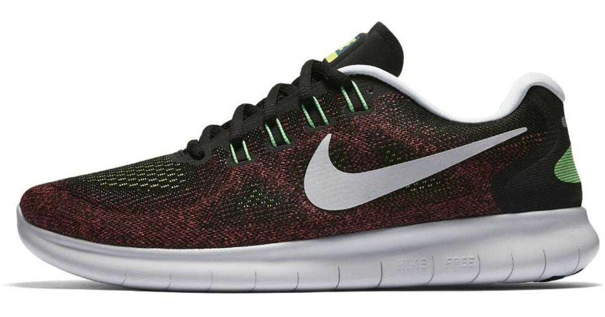 d35c51153c28 Lyst - Nike Free Rn 2017 Men s Running Shoe in Black for Men