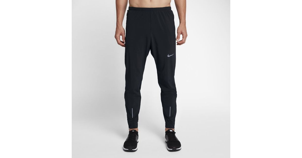 5495689d690fb Nike Essential Men's Woven Running Pants in Black for Men - Lyst