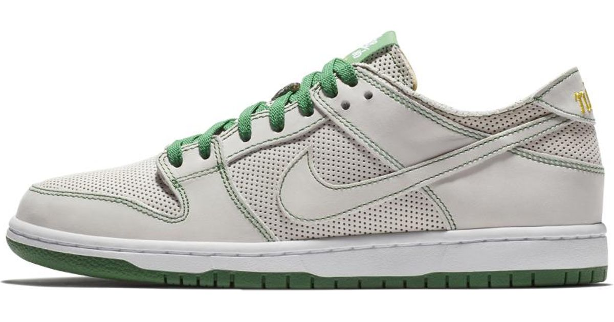 5b5b10aef5b Lyst - Nike Sb Zoom Dunk Low Pro Deconstructed Qs X Ishod Wair Men s  Skateboarding Shoe in White for Men