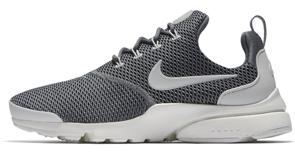 0433649575e2 Lyst - Nike Presto Fly Women s Shoe in Gray