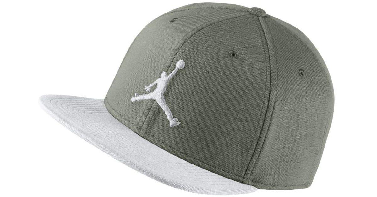 da2b82348a7f Lyst - Nike Jumpman Snapback Adjustable Hat