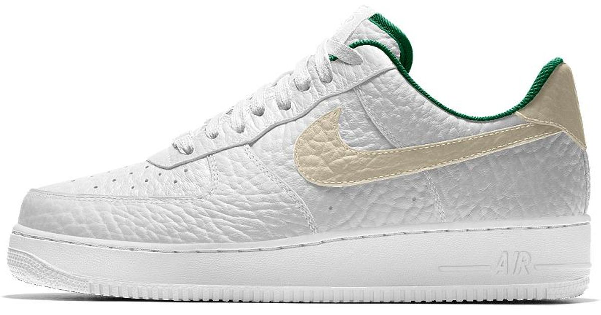 new style 9ff90 f763c Nike Air Force 1 Low Premium Id (milwaukee Bucks) Men's Shoe in White for  Men - Lyst