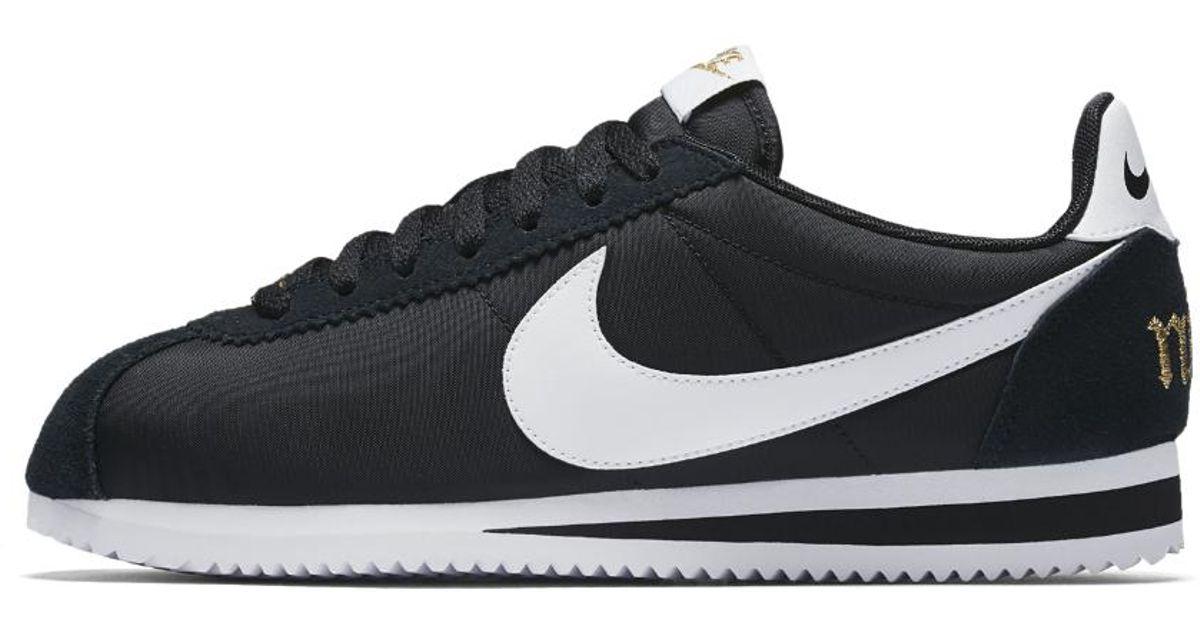 15ac78c832e0c Lyst - Nike Classic Cortez Premium Xlv Women s Shoe in Black