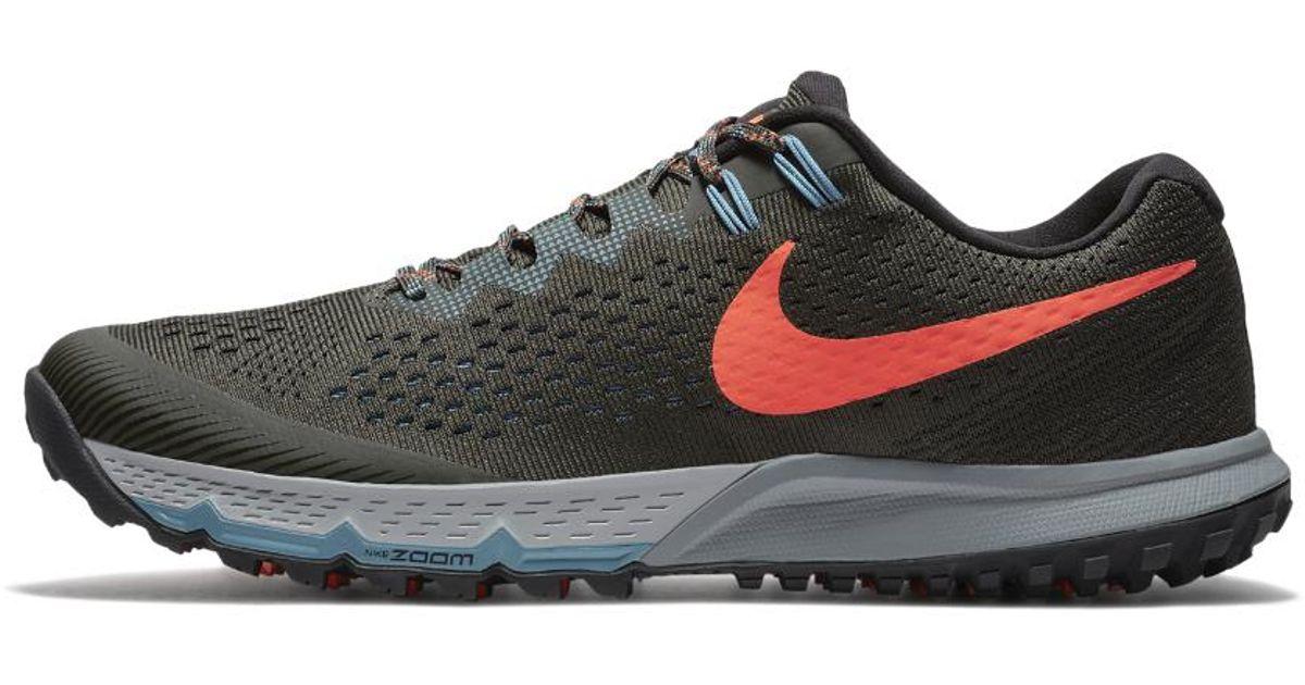 5f13d6829f63c Lyst - Nike Air Zoom Terra Kiger 4 Men s Running Shoe in Black for Men