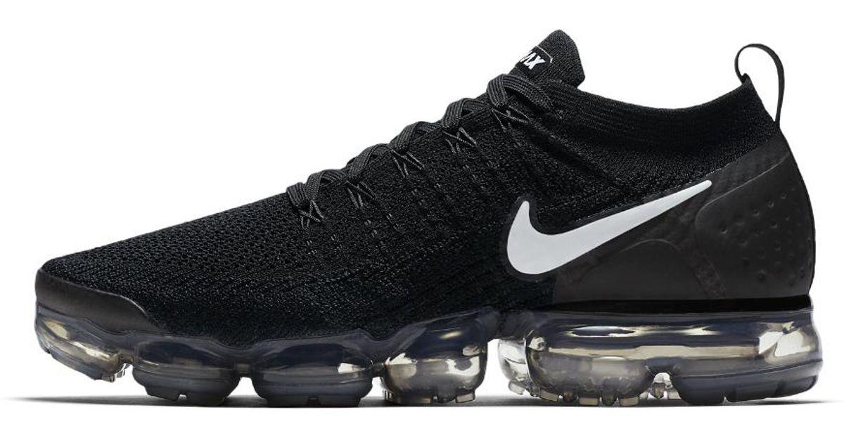 3111e7004bb7 Lyst - Nike Air Vapormax Flyknit 2 Men s Running Shoe in Black for Men