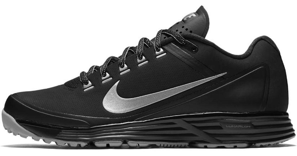 2c758f9fb2 ... hot lyst nike alpha lunar clipper 17 turf mens baseball shoe in black  for men 64513