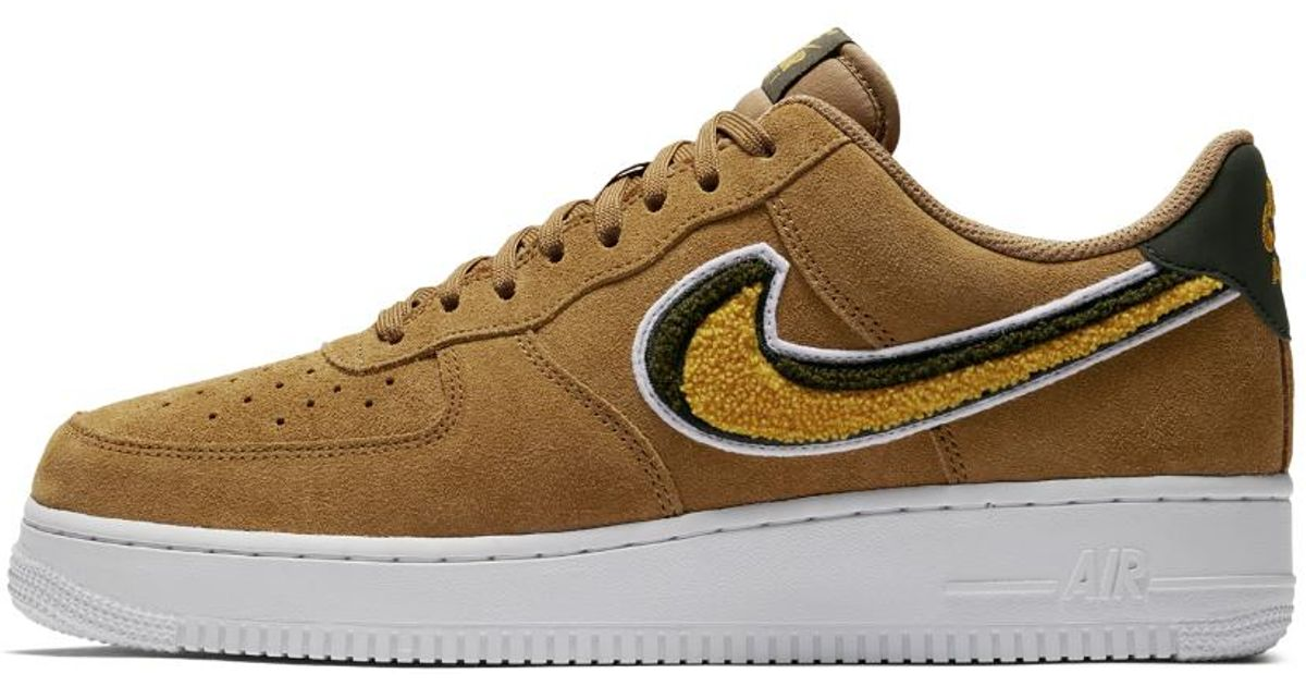 e36a8b0ea59 Lyst - Nike Air Force 1 Low 07 Lv8 Men s Shoe in Brown for Men - Save 21%