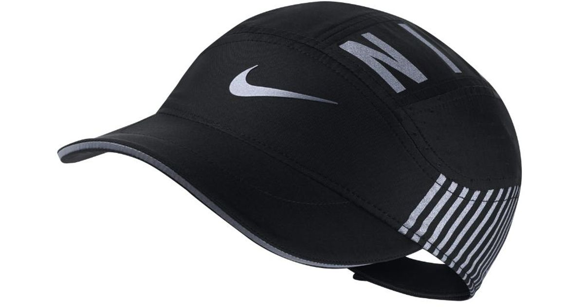 Lyst - Nike Aerobill Elite Adjustable Running Hat (black) in Black for Men c9be368ed73