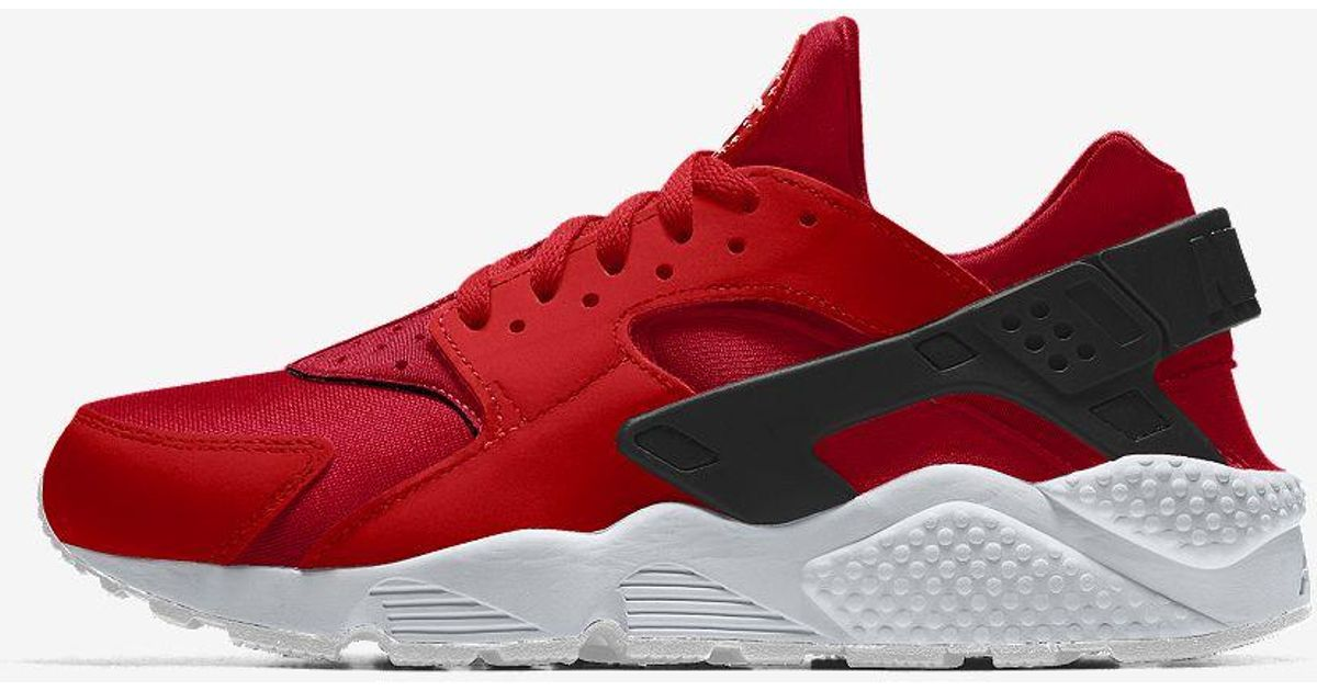 Nike Red Air Huarache By You Custom Shoe for Men Lyst