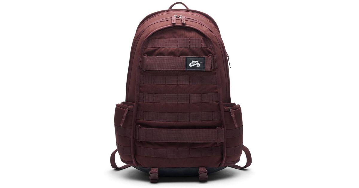 4ae9c3d4c910c0 Lyst - Nike Sb Rpm Skateboarding Backpack (red) in Red for Men