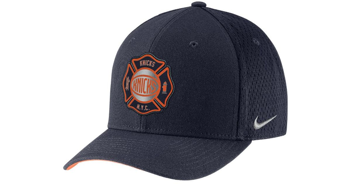 e73a452e Nike New York Knicks City Edition Classic99 Nba Hat (blue) - Clearance Sale  in Blue for Men - Lyst