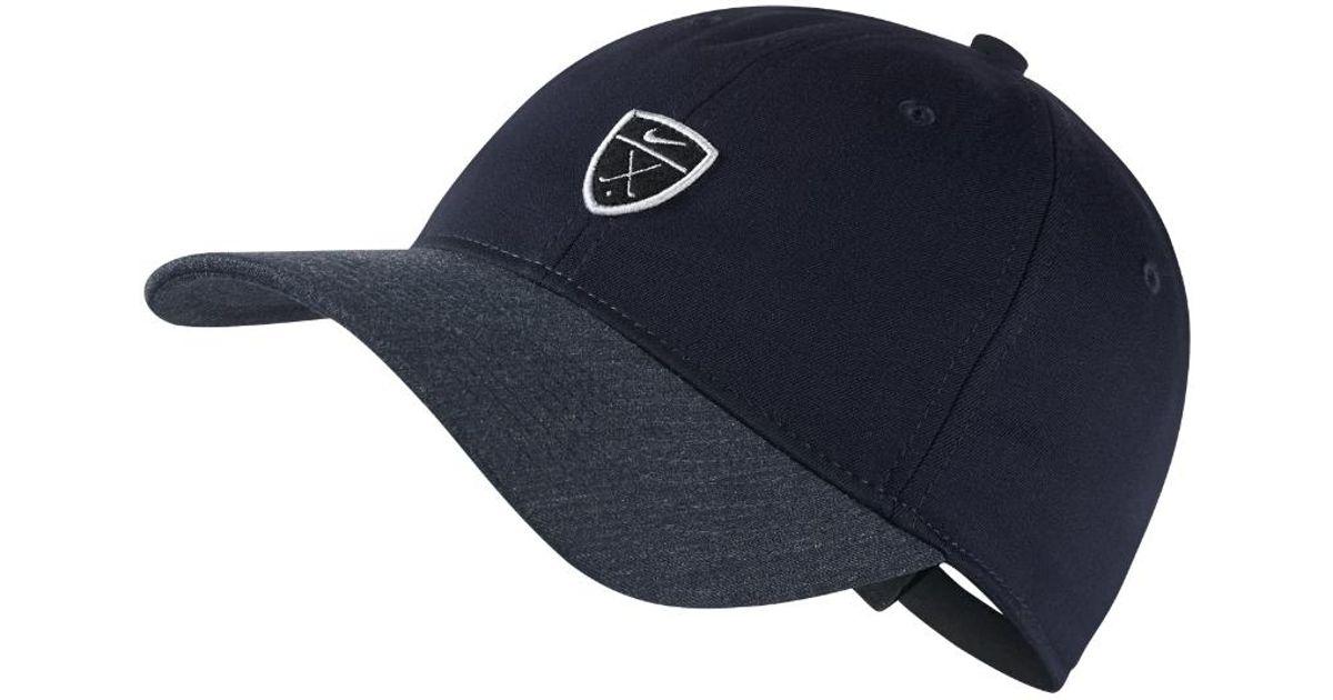687a1d40ce321 Lyst - Nike Dri-fit Heritage86 Adjustable Golf Hat (blue) in Blue for Men