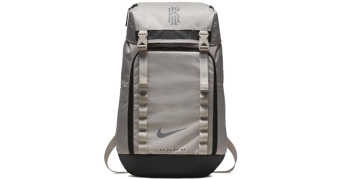 23f3a4e5aabb Lyst - Nike Kyrie Basketball Backpack (cream) in Black for Men