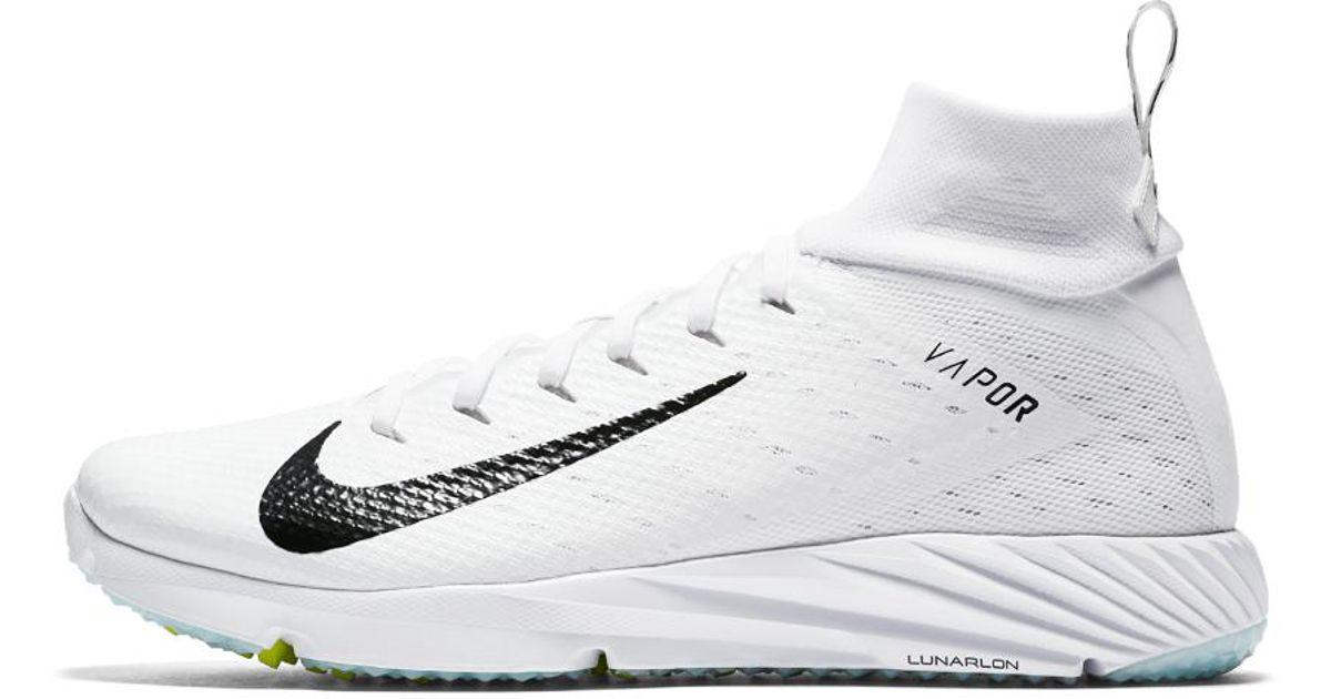 48971235d Nike Vapor Untouchable Speed Turf 2 Men s Football Cleat in White for Men -  Lyst