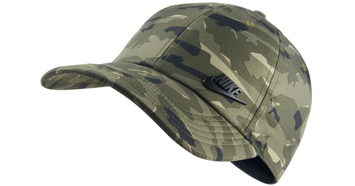 8565937f3bb Lyst - Nike Sportswear Futura Heritage 86 Adjustable Hat (khaki) for Men
