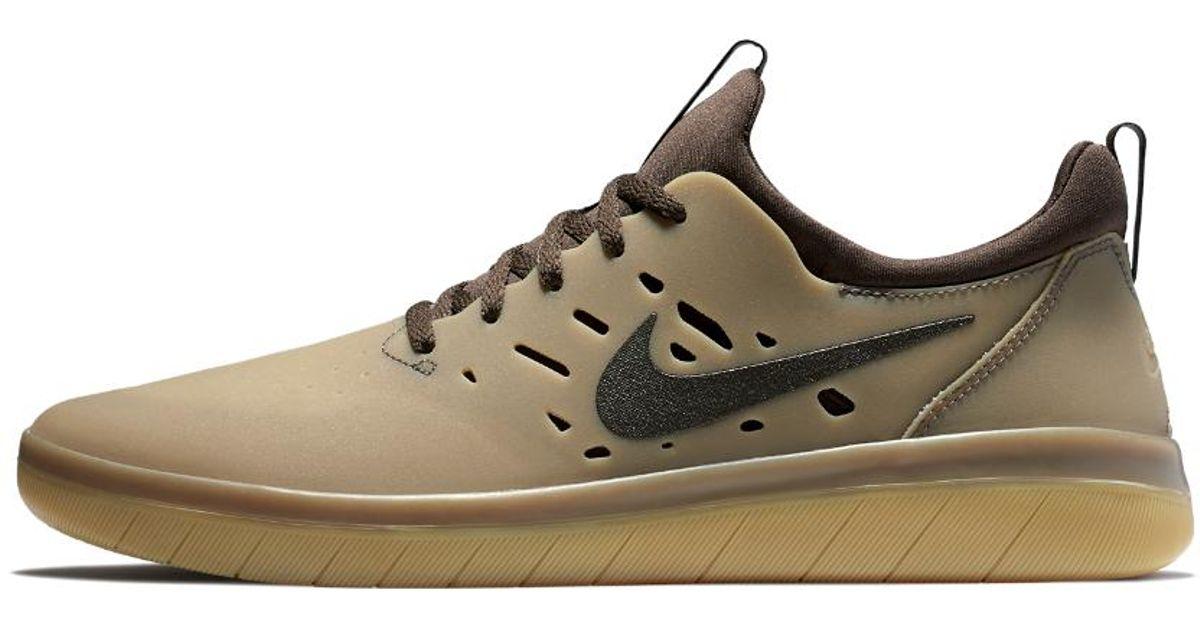 30a19a1489bff Lyst - Nike Sb Nyjah Men s Skateboarding Shoe in Brown for Men nike sb  shoes nyjah
