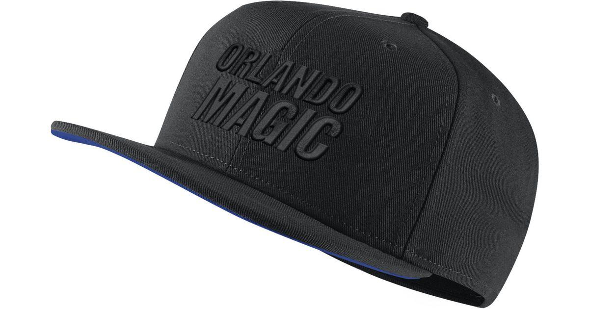 7670b0e0b Nike - Black Orlando Magic Aerobill Nba Hat - Lyst