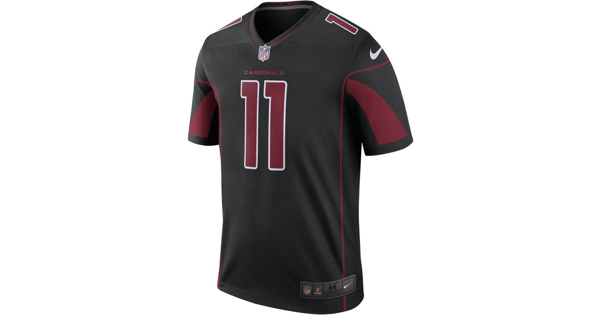 be527a382537 Lyst - Nike Nfl Arizona Cardinals Color Rush Legend (larry Fitzgerald)  Men s Football Jersey in Black for Men