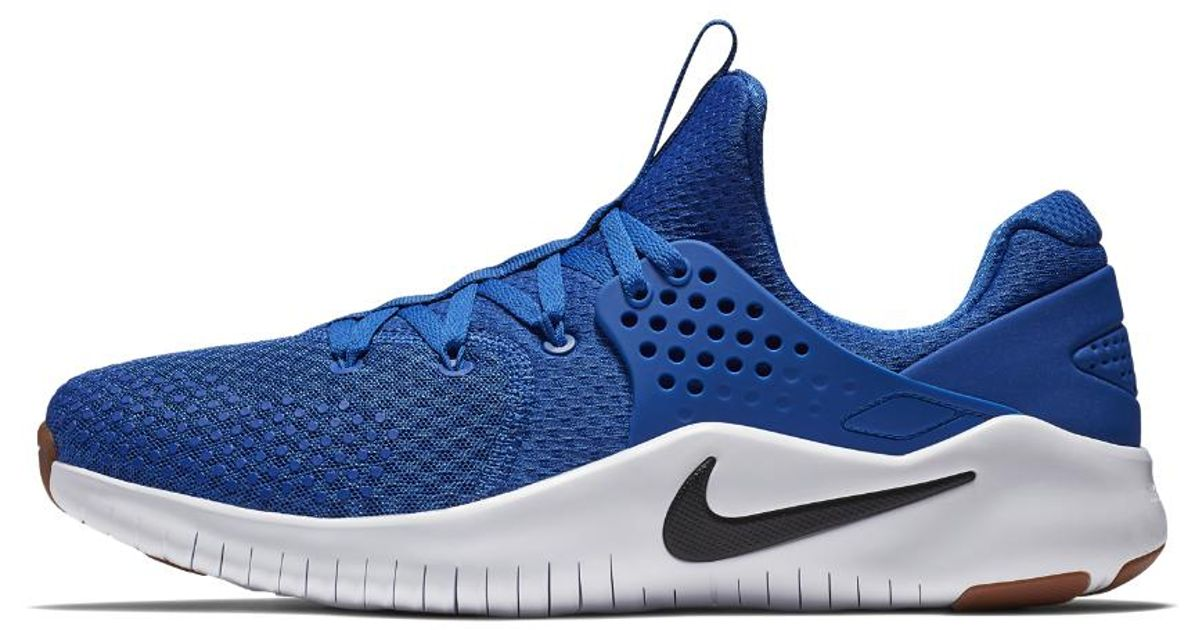 e54e564555ca Lyst - Nike Free Tr V8 Men s Training Shoe in Blue for Men