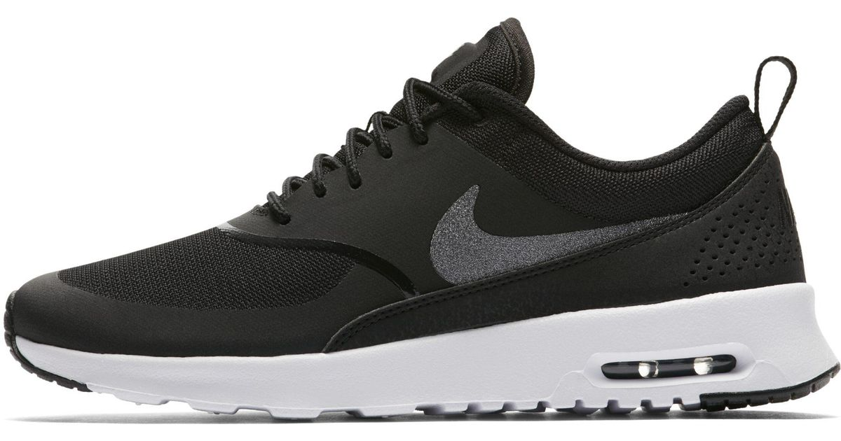 Nike Air Max Thea Glitter Shoe in Black - Lyst d813384add