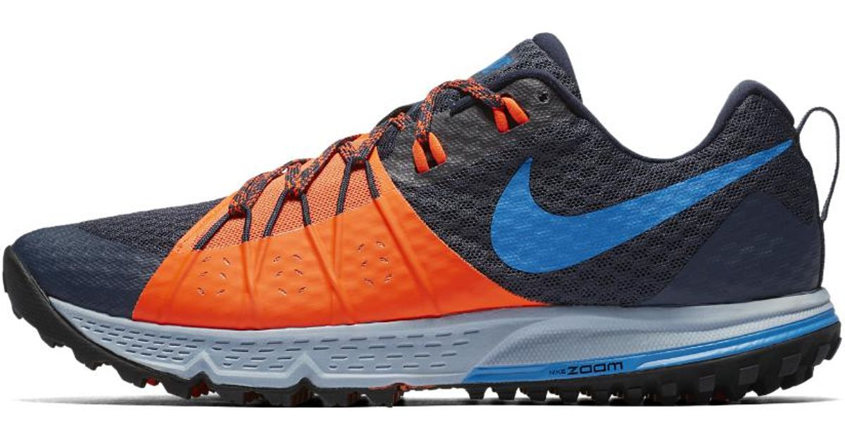 bb48d7fda0a31 Lyst - Nike Air Zoom Wildhorse 4 Men s Running Shoe in Blue for Men