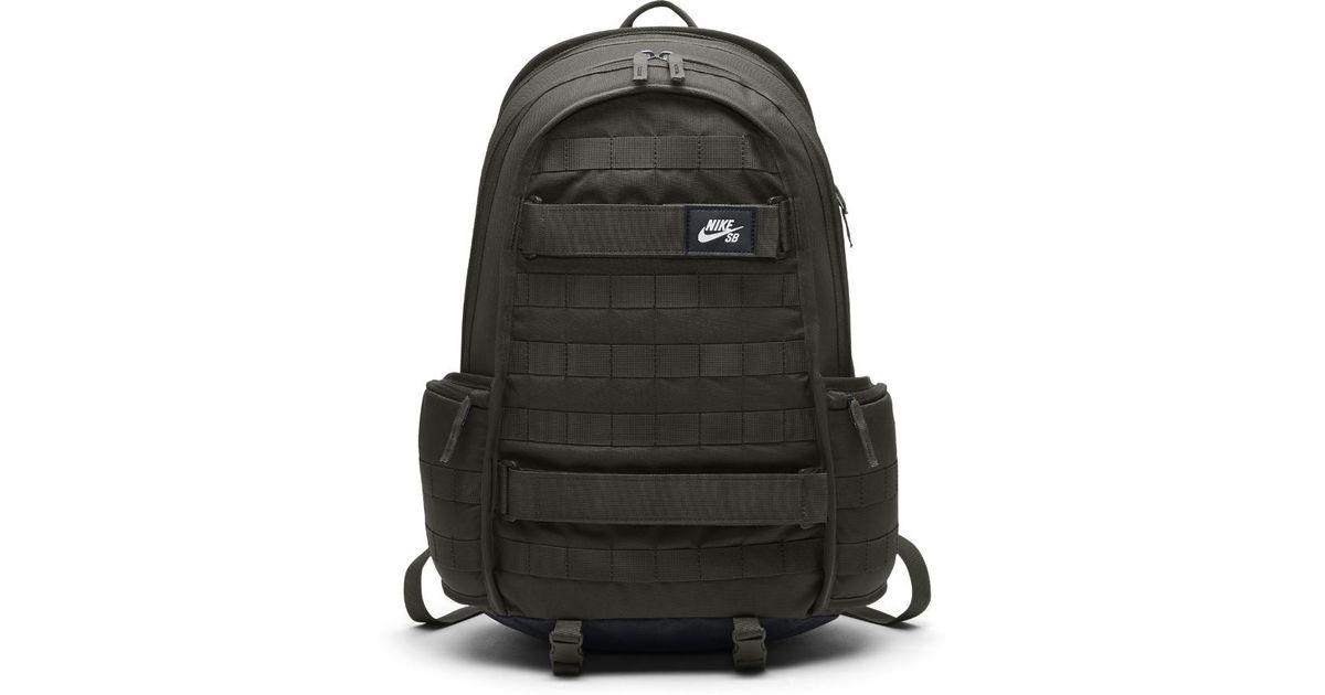 Lyst - Nike Sb Rpm Skateboarding Backpack (olive) in Black for Men 9ae397bd4a5be