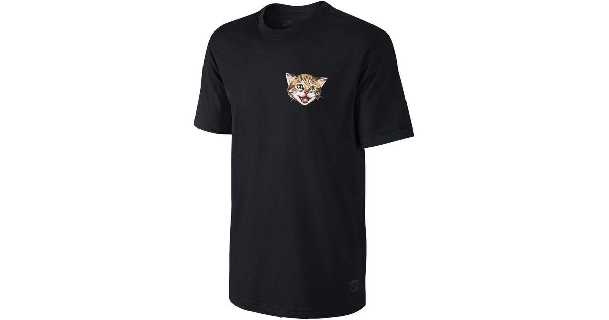 d16047531 Nike Sb Cat Scratch 15 Men's T-shirt in Black for Men - Lyst
