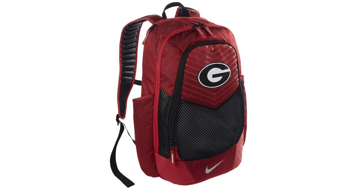 Lyst - Nike College Vapor Power (georgia) Backpack (red) in Red for Men a79cf8c0f