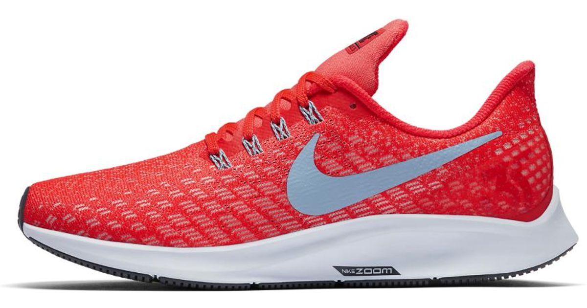 Lyst - Nike Air Zoom Pegasus 35 Running Shoe in Red