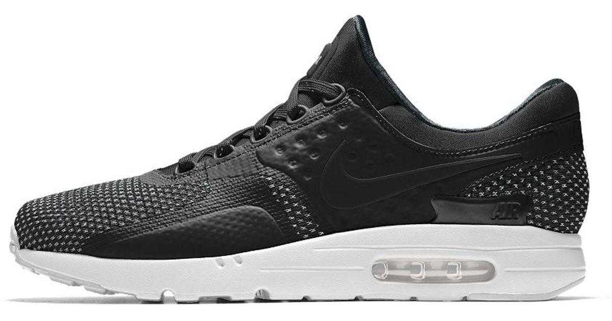 Nike Black Air Max Zero Id Men's Shoe for Men Lyst