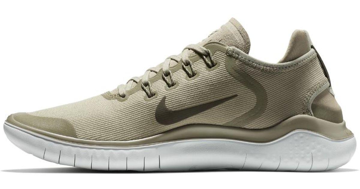 79e16f4b31c0 Lyst - Nike Free Rn 2018 Sun Men s Running Shoe in Gray for Men