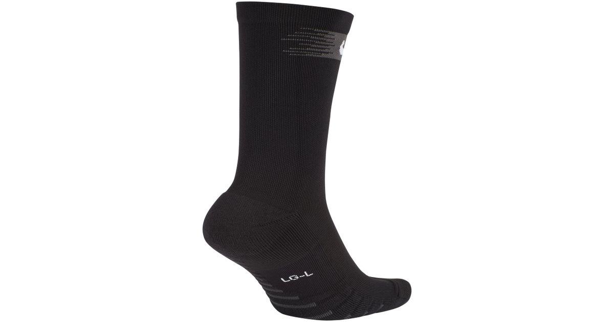 62ab73cbd Nike Squad Crew Football Socks in Black - Lyst